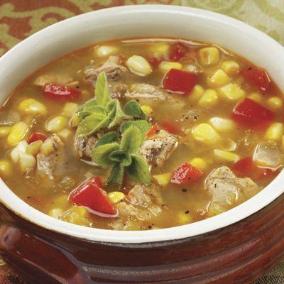 Pork & Green Chiles Stew