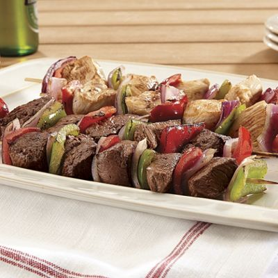 Steak & Chicken Kabobs