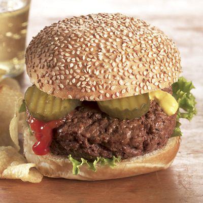 Ground Chuck Burgers