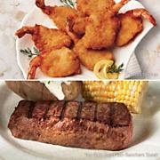 Shrimp and Steak Special