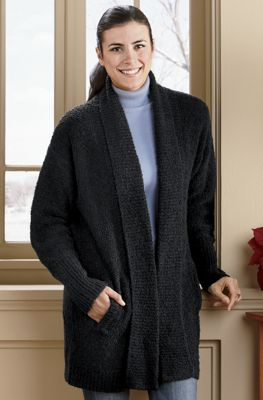 Bouclé Sweater Coat