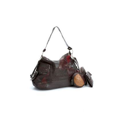 4-Piece Leather Handbag Set