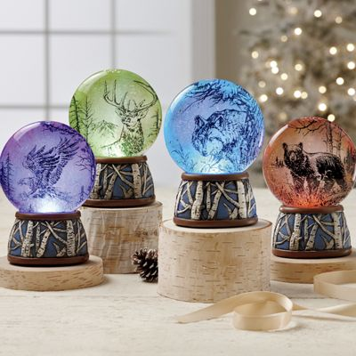 LED Wildlife Waterglobe