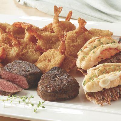 Steak & Seafood Favorites