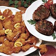 Fantail Shrimp & Filets Combinations