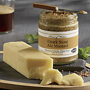 Beer Cheddar Cheese & Mustard