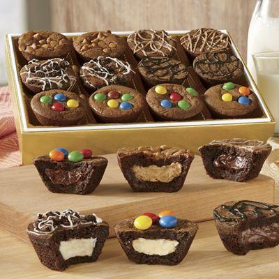 Fudge Brownie Puffs