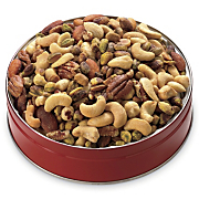 50/50 Mixed Nuts with Pistachios Gift Tin