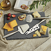 Three Cheese Tools and Slate Cheese Board