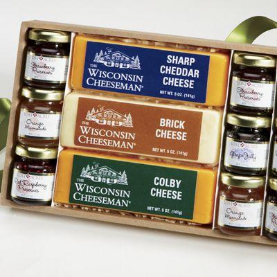 Jams, Jellies & Cheese Gift Assortment