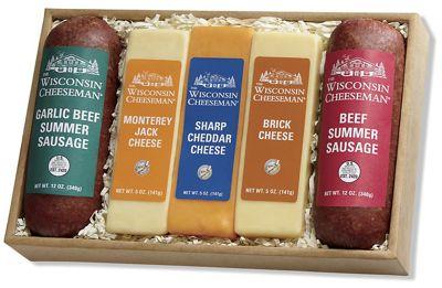 Cheese & Sausage Gift Box