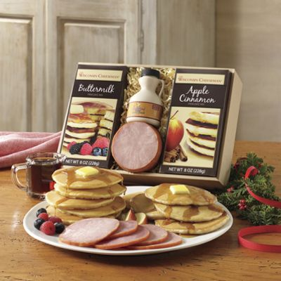 Pancakes & Canadian-Style Bacon