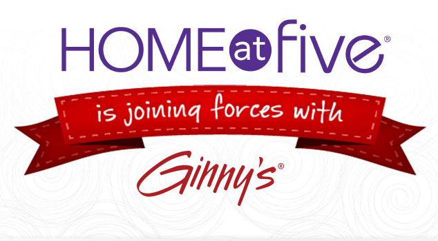 Home at Five is joining forces with Ginny's