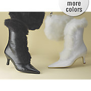Faux Fur Trim Boot