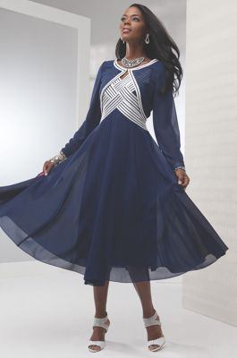 Blue Angel Jacket Dress