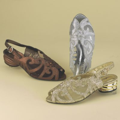 Scroll Mesh Sandal