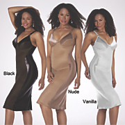 Chocolate Control Dress Slip