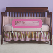 Mesh Convertible Crib Bed Rail