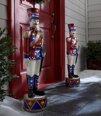Holiday Soldier with LED Lights