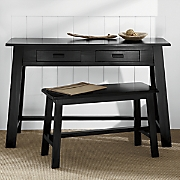 Rustic Desk And Bench A