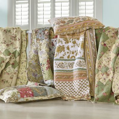 & Your Choice Oversized Cotton Quilt from Country Door