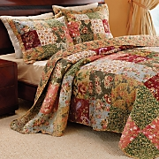 Antique Chic Bedding and Window Treatments
