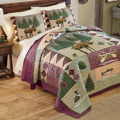 Moose Lodge Quilt Set from Ginny's | 40351 : moose lodge quilt set - Adamdwight.com