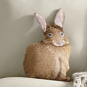 Hare Raising Pillow