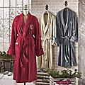 Personalized Unisex Regular Plush Robe