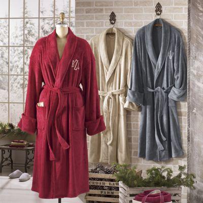Personalized Unisex Plush Robe