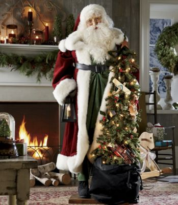 Life size Father Christmas From Country Door 41705