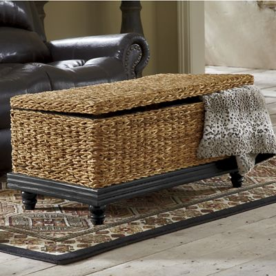 Attirant Seagrass Coffee Table