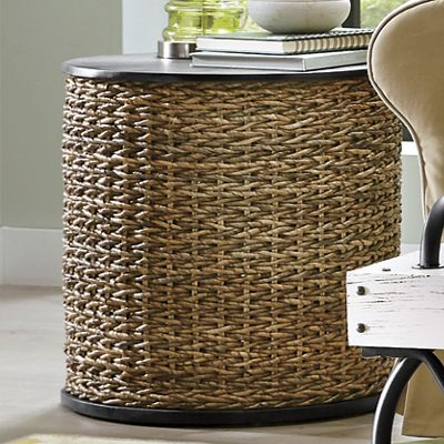 Seagrass End Table