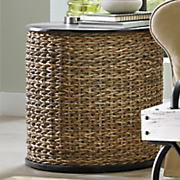 seagrass end table 60