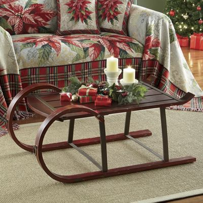Sleigh Coffee Table From Seventh Avenue 42235