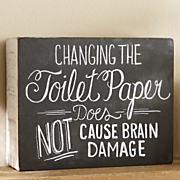 every bathroom needs this sign