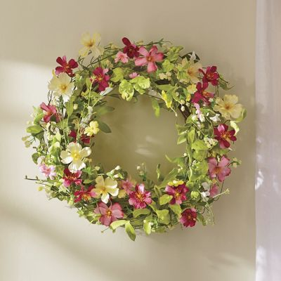 Cosmos Wreath From Country Door Ni42704