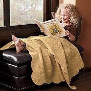 Gwendolyn Leaf Cotton Throw