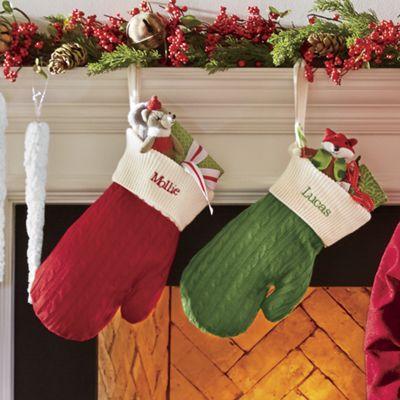 Holiday Mitten Stocking