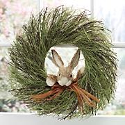 Peek-A-Boo Bunny Wreath