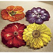 Hand-Tufted Blossom Rug