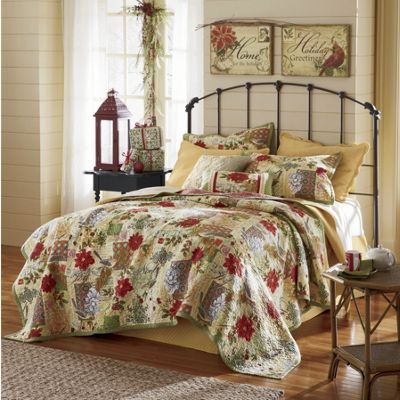 Joy Noelle Oversized Reversible Quilt and Accessories