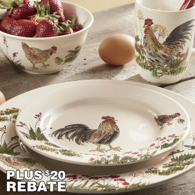 Breathtaking Rooster Dinnerware Contemporary - Best Image Engine . & Breathtaking Rooster Dinnerware Contemporary - Best Image Engine ...