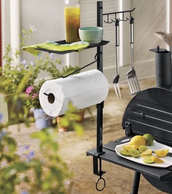 Barbecue Accessory Organizer