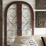 Set of 2 Shutters & Gate Wall Décor from Through the Country Door | NI720050 Pezcame.Com