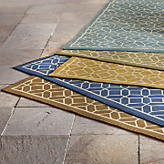 honeycomb indoor outdoor rug