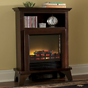 space saver electric fireplace