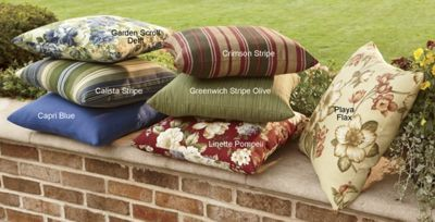 Polyester Outdoor Cushions for Wicker Furniture