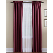 color connection rod pocket panels valance by montgomery ward
