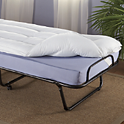 Rollaway Guest Bed & Mattress Topper